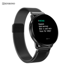 SENBONO CF68 IP67 Waterdichte Slimme Horloge Mannen Bloeddruk Sport Vrouwen Full Screen Touch Smartwatch Hartslag Slimme Armband