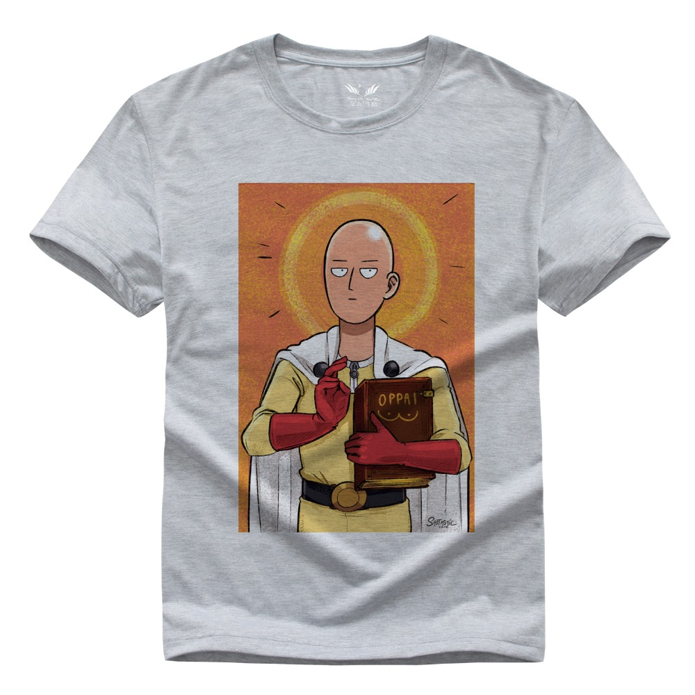 Japanese Anime T-Shirt One Punch Man Saitama Printed T Shirt Harajuku Summer Saiyan Goku Short Sleeve Tee Shirts