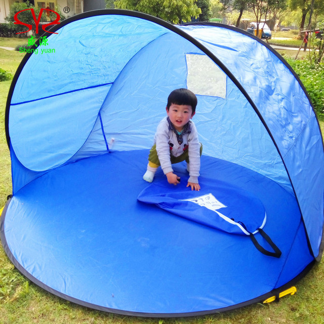 outdoor lightweight portable beach tents automatic beach tent pop up beach tent beach tents  new  free shiping