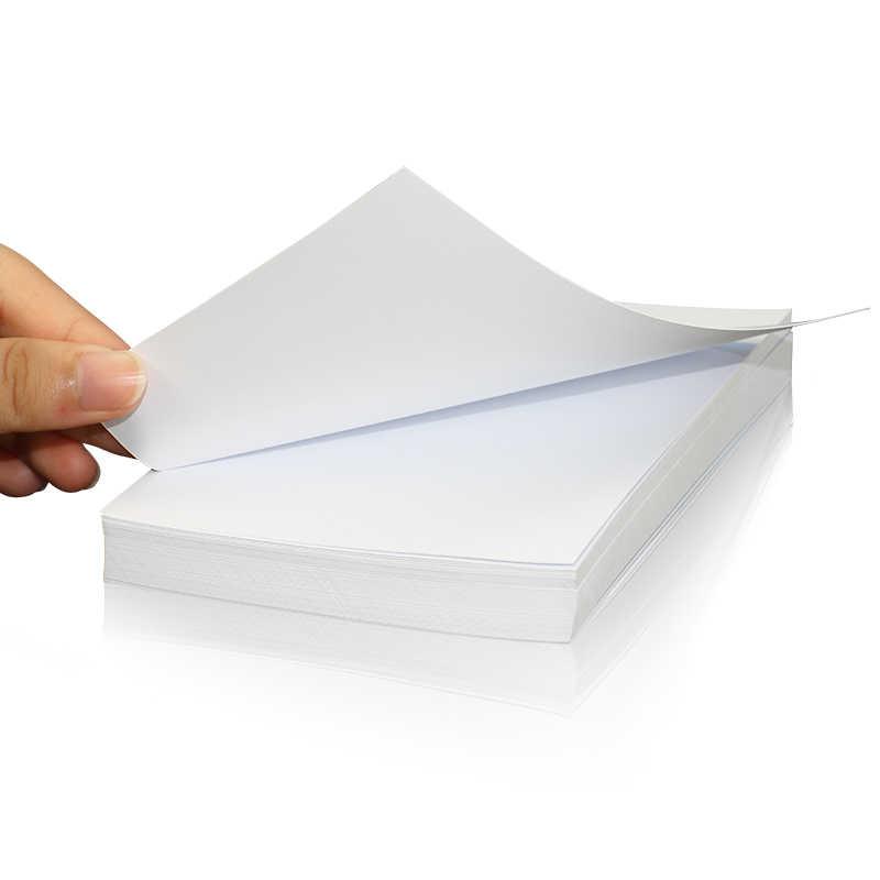Высокая глянцевость фотобумага A4 A5 A6 5R 4R для цветной струйный принтер световой гладкой поверхностью разных размеров 100 листа/уп наклейки для ногтей с пакет легко печати