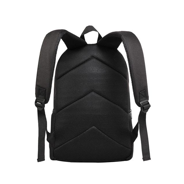 Cute Denim Print Cat Backpack 11patterns
