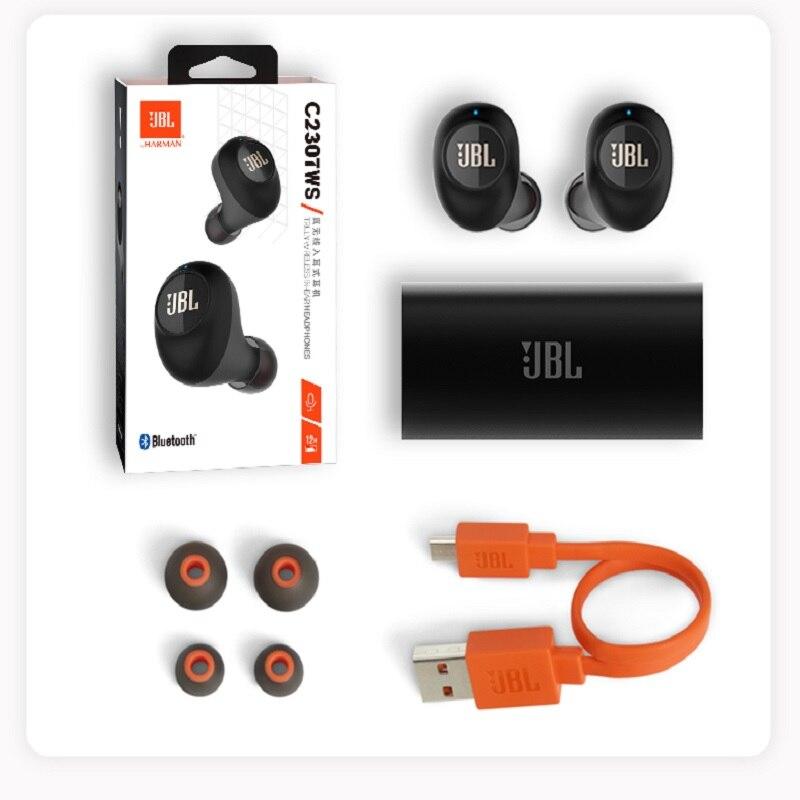 JBL C230TWS Drahtlose Kopfhörer Bluetooth V5.0 Earbuds Stereo Mikrofon In Ohr mit Lade Box Drahtlose Ohrhörer - 6