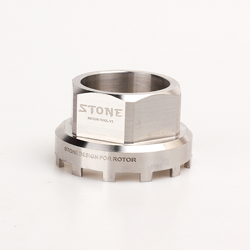 Stone Bike Rotor Remover Tool 304 Steel for REX 3D 3DF 30mm 24mm Axle Rotor 2inpower Bicycle Crank ToolsStone Bike Rotor Remover Tool 304 Steel for REX 3D 3DF 30mm 24mm Axle Rotor 2inpower Bicycle Crank Tools