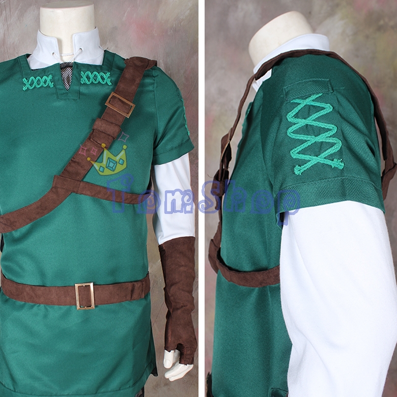 c4afdb6bf Legend of Zelda Hyrule Warriors Link Cosplay Outfit Uniform Suit Full Set  Men Women Halloween Costume Free Shipping-in Movie & TV costumes from  Novelty ...