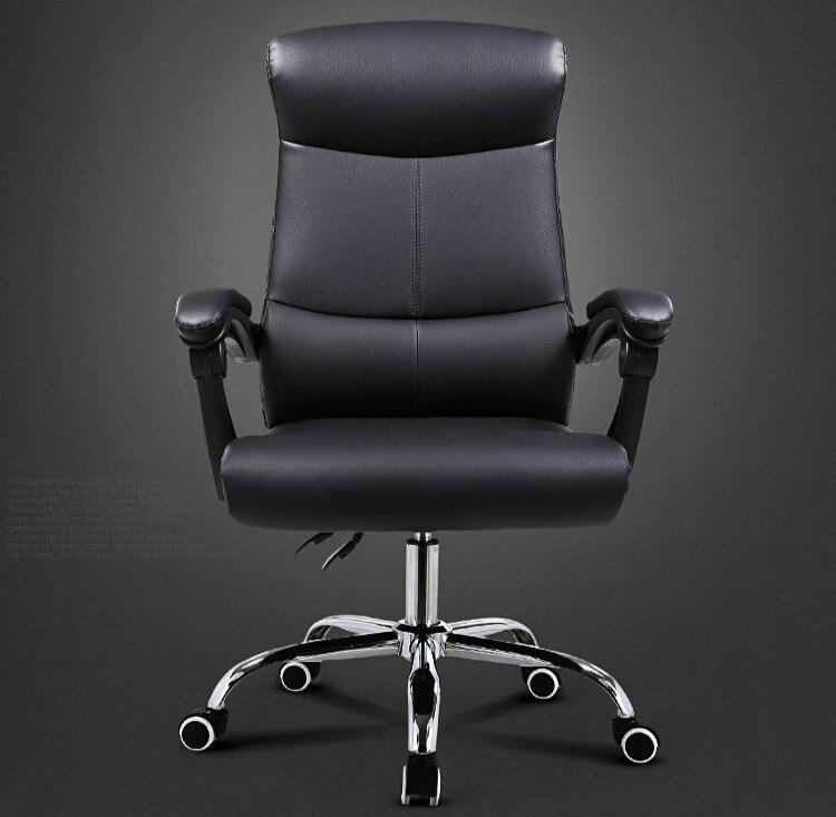 Di alta Qualità Ergonomica Esecutivo Sedia Da Ufficio Computer di Sollevamento Regolabile Pieghevole Poggiapiedi 360 Gradi Girevole sedie ufficio