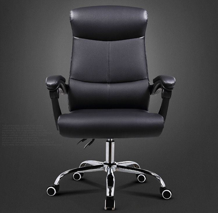 Haute Qualité Ergonomique Exécutif Chaise de Bureau Ordinateur De Levage Réglable Pliable Repose-pieds 360 Degrés Pivotant sedie ufficio