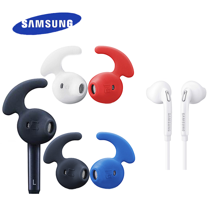 SAMSUNG Earphone EO-EG920LWCH59 Wired with Multicolor Earmuffs 3.5mm plug In-ear Gaming Headsets Support Galaxy S8 S8P S9 S9P ovevo s9 wired in ear earphones mint green