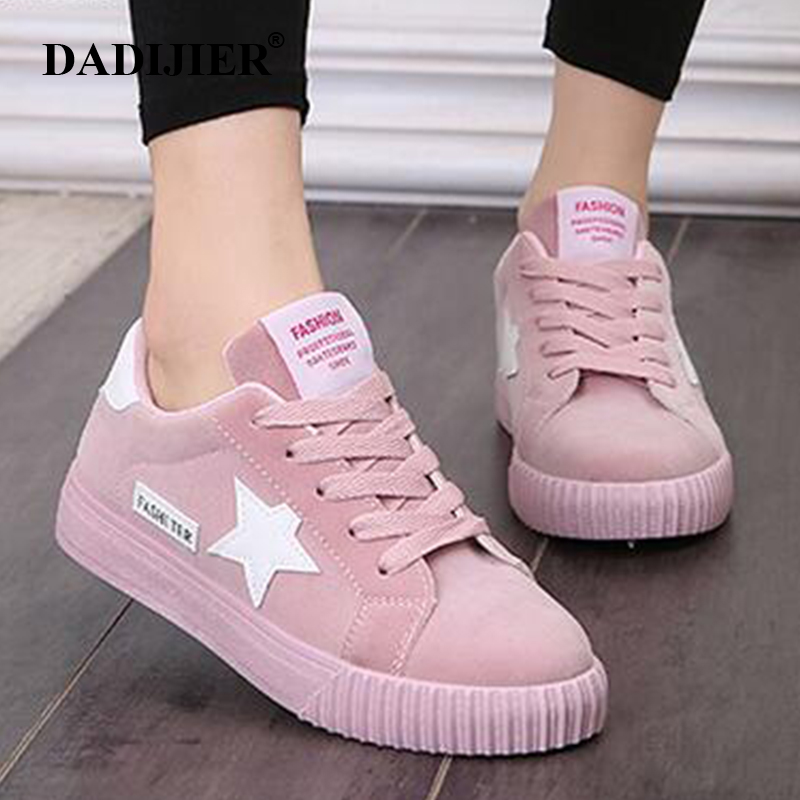 Saison Casual Black La Chaussures Dadijier Appartements forme pink red gray Mode Sneakers Xc41 Étoiles Toute Femmes Pour Respirant Confortable Étudiant Plate twqnPvTq