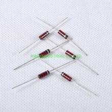 10pcs Carbon Composition vintage Resistor 0.5W 2.2k ohm цена