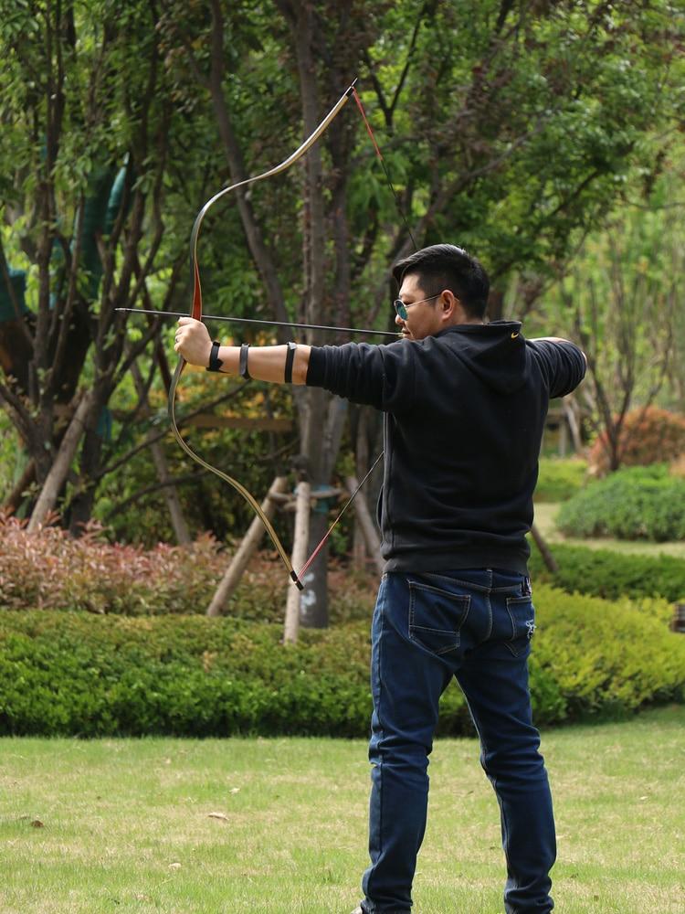"45//50lb 64/"" You-Finish Traditional Hickory Longbow Ringing Rocks Archery"