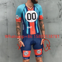 Love the pain Triathlon Short Sleeve Cycling Skinsuit Bike Jersey Clothes For Swimming Running Riding Cycling Jersey Quick Dry