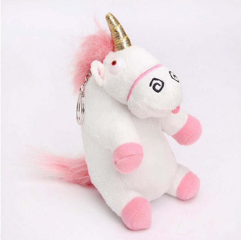4 Size Despicable Me Fluffy Unicorn Juguetes Brinquedos Soft Stuffed Plush Toy Cushion Gift For Kids Free Shipping 7inch free shipping stiched stuffed animalsl christmas gift the pendant goods for creativity brinquedos kids