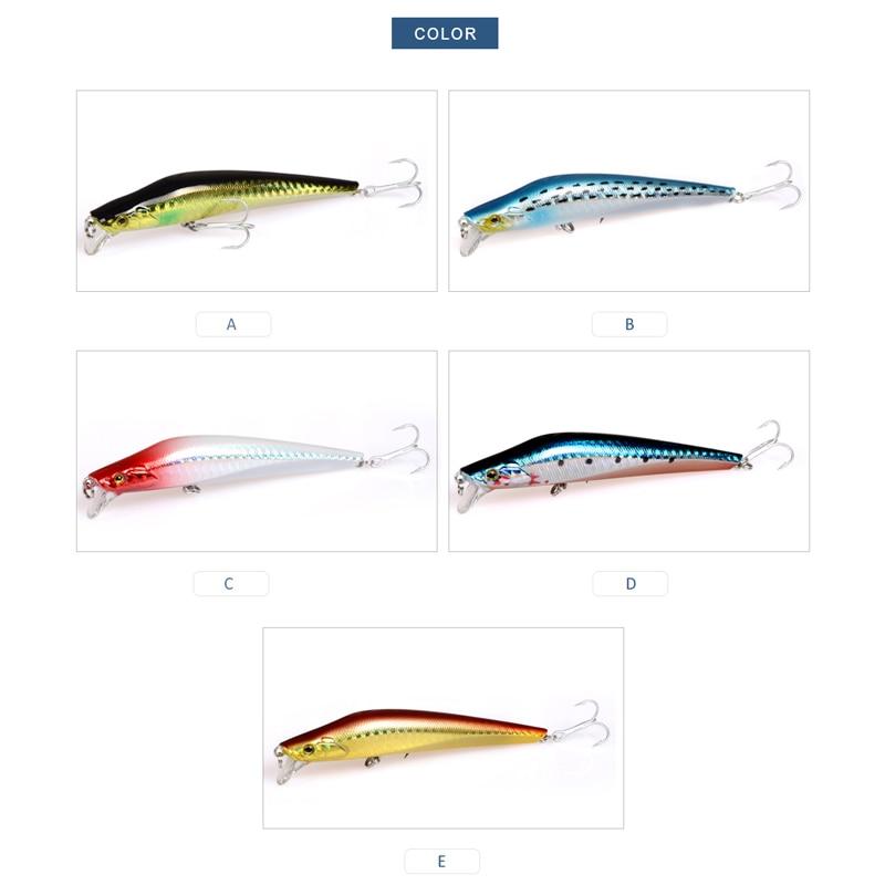 Meredith Señuelos de pesca 1 unids 9.2 g 100 mm Minnow flotante duro - Pescando - foto 4