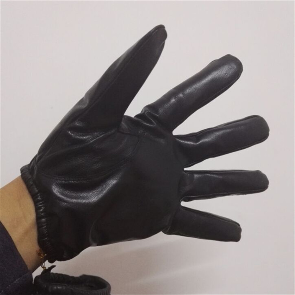 Mens leather kid gloves - Eco Friendly Winter Driving Car Screen Touch Stylish Sheepskin Kid Cape Leather Gloves China