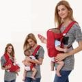 Эргономичный многофункциональный Кенгуру 360 Младенческой Рюкзак Hipseat Дышащей Детские Кенгуру Wrap Слинг с Кольцами Бесплатная Доставка