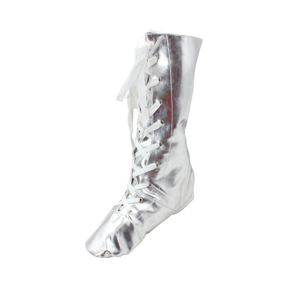 MSMAX P111 Dance Shoes Pu Knee-High Jazz Boots Child Boy Girls Jazz Shoes Professional Ballet Shoes Kid Modern Jazz BootsMSMAX P111 Dance Shoes Pu Knee-High Jazz Boots Child Boy Girls Jazz Shoes Professional Ballet Shoes Kid Modern Jazz Boots