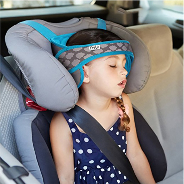 Baby Car Safety Seat Head Fixing Sleeping Pillow Travel Kid Neck Protection