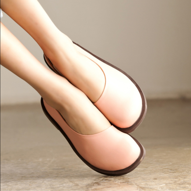 2018 New Cow Leather Shoes Women Flats Shoes 100% Genuine Leather Loafers Female Shoes Handwork High Quality Shoes Women Flats usb charged 10 models super fast retractable fully automatic masturbator male masturbation machine sex products