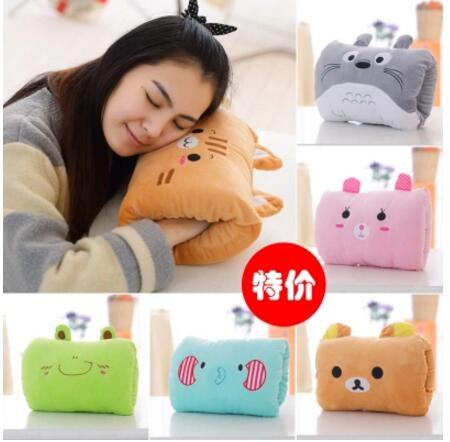 Home & Garden Honey Totoro/bear/frog/pig Cartoon Plush Hand Warmer Winter Cushion Throw Pillow Nap Kids Gift Suitable For Men And Women Of All Ages In All Seasons