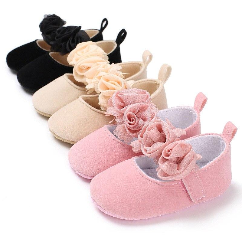 Crib-Shoes Sneakers Prewalker Anti-Slip Soft-Sole Toddler Newborn Baby-Girls 88-Nsv775