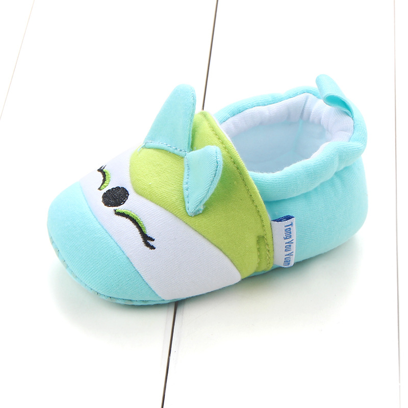 First Walkers Baby Shoes Cotton Anti-slip Booties Baby Girl Boy Shoes Animal Cartoon Newborn Slippers Footwear Booties Kids Gifts (39)