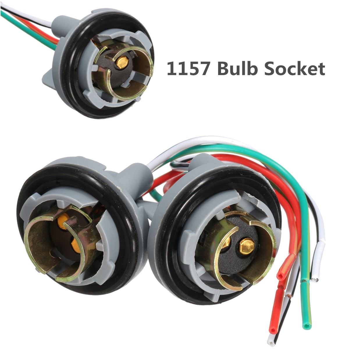 2x 1157 Turn Light Brake Bulb Socket Connector Wire Harness Plug For G9 Wiring Led Bulbs In Connectors From Lights Lighting On Alibaba Group