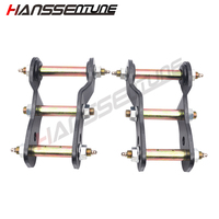 HANSSENTUNE 4x4 Extended Greasable Shackles Kits 2 Rear Suspension Spring Rear Lift Kits for HILUX SR 166