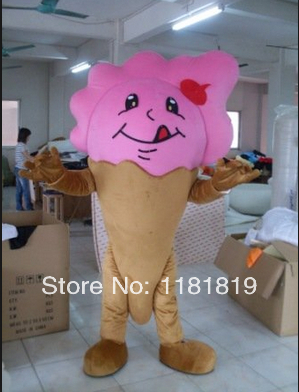 MASCOT ice cream mascot icecream costume custom fancy costume anime cosplay kits mascotte fancy dress carnival costume