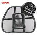 NOVO Assento de Carro Cadeira Do Escritório de Volta Apoio Massagem Lombar Malha Ventile Cushion Pad Mat auto massagem cintura almofada de apoio lombar