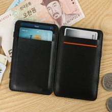 цены Slim wallet men Thin wallet men PU purse soft men wallets luxury brand famous male money bag small pocket