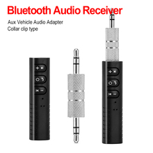 Bluetooth Receiver Car Bluetooth AUX 3.5mm Music Bluetooth Audio Receiver Handsfree Call Car Transmitter Auto Adapter все цены