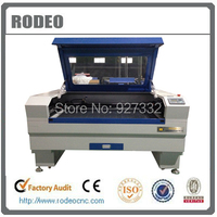 Laser cutting machine price RDJ 1390 100w CO2 laser tube for Plastic, wood, mdf,leather