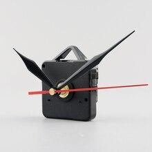 Новые бесшумные настенные часы кварцевый механизм иглы черные и красные руки DIY запасная часть Ремонтный комплект набор инструментов механизм часов