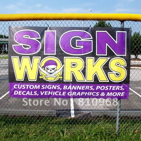 Aliexpresscom  Buy Fence Banner With Eyelets For Hang Water - Vinyl banners with eyelets