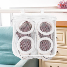 FREE SHIPPING !! Mesh Laundry Bags Dirty Shoes Protect Washing Bag JKP907