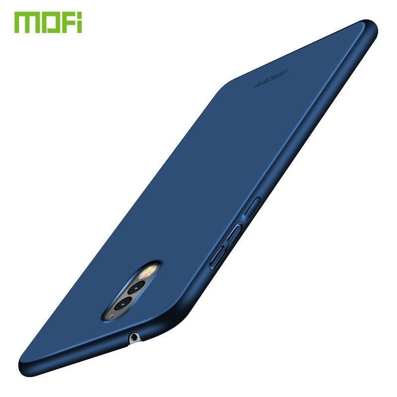 Para Nokia caso MOFi de lujo de la cáscara del teléfono de la PC dura de la cubierta protectora para Nokia 8 para cubrir los casos teléfono Nokia8 Funda Coque