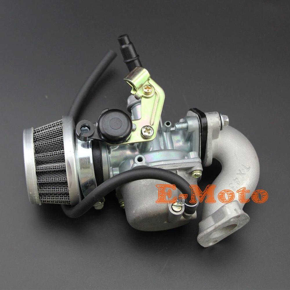 PZ19 Carb 19mm Carburetor Carb Choke Air Filter Intake Pipe Gasket For Chinese ATV Quad 4 Wheeler 50 70 90 110 125cc
