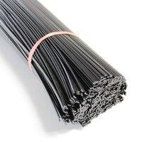 1m long black ABS PE PP PPR plastic welding rods solder soldering sttick for auto car bumper repair