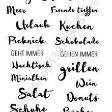 Немецкий прозрачный чистый силикон штамп печать DIY Скрапбукинг фото украшение для альбома прозрачный штамп