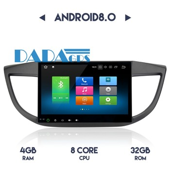 2din Android 8.0 7.1 Car Radio GPS Navigation for Honda CRV 2012 2013 2014 Audio Car Stereo no DVD Player Multimedia Headunit FM image