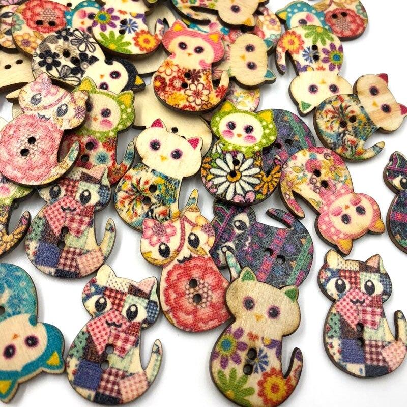50//100//500pcs Mix Lots Plastic Buttons Sewing Craft PT80