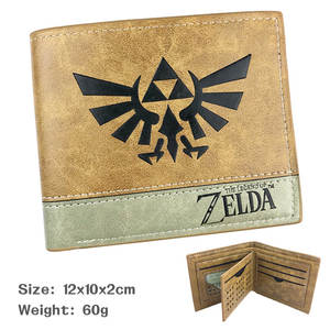 A Wallet Link Zelda Unisex Short Polyester with Preferential-Treatment Quantity Limited