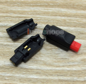 LN004341 Red Black Earphone Pin For audio-technica ATH-IM50 ATH-IM70 ATH-IM01 ATH-IM02 ATH-IM03 ATH-IM04 фото