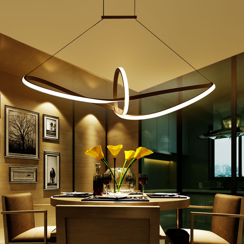 com buy modern led chandelier for dining room bar kitchen room