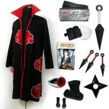 Наруто Учиха Итачи Косплэй costumefull установить любой размер для косплея и Хэллоуина