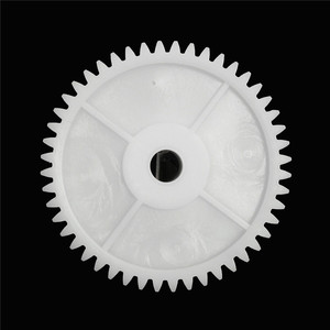 New 1PC Plastic White Gear Hol