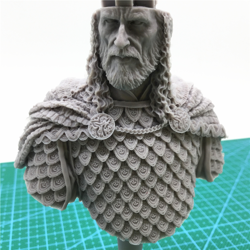 1/10 Resin bust model kit ancient history movie game king Salahuddin X63