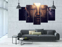 Modern Home Decor HD Print 5pcs Religion Culture Buddha Painting Canvas Wall Art Painting For Living