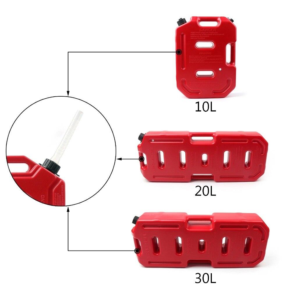 Boîtes d'essence de récipient de mazout d'areyourshop 10L/20L/30L pour Jeep Wrangler pour Toyota pour des accessoires de voiture de Pajero
