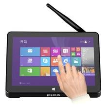 Новый PIPO X8 Двойной HD Графика ТВ коробка Окна 10 Android 4.4 Intel Z3735F 4 ядра 2 ГБ/32 ГБ TV Box 7 дюймов Экран Планшеты Mini PC